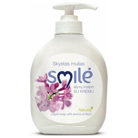 Ringuva Smile, Кремове рідке мило із запахом бузку, 300 мл