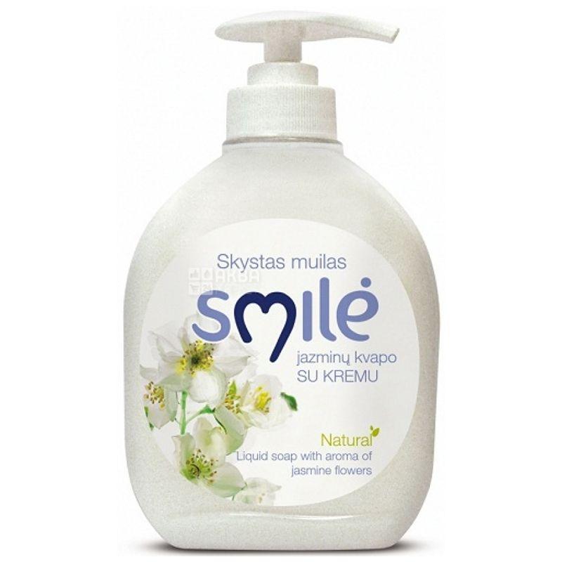 Ringuva Smile, Кремове рідке мило із запахом жасмину, 300 мл