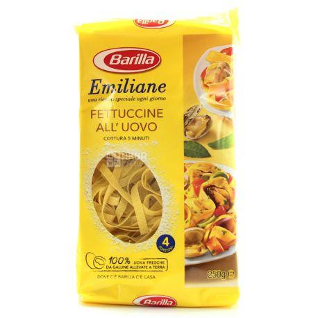 Barilla, 250 g, Pasta, Fettuccine, Egg, m / y