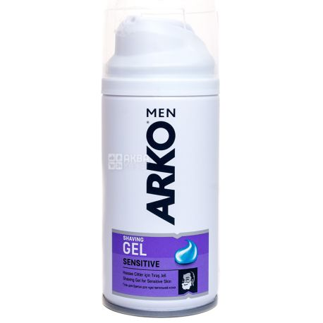 Arko Sensitive, Гель для бритья для чувствительной кожи, 75 мл