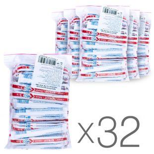 АТА, 32 упаковки по 100 стиков, Сахар белый в стиках, Кристаллический