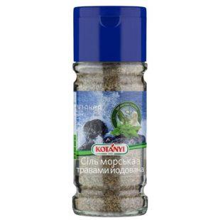 Kotanyi, Соль йодированная с травами, 147 г