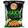 LAY'S, 120 г, Чипсы картофельные, Max, Сыр и лук, Рифленые, м/у