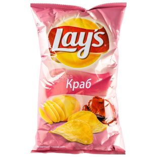 LAY'S, 30 g, Chips, Crab, m / s