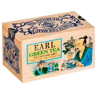 Mlesna, Earl grey, 100 г, Чай Млесна, Ерл грей, зелений з бергамотом, д/к
