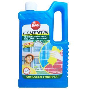 Bagi, 1 л, Средство для удаления цемента и извести, Цементин, ПЭТ