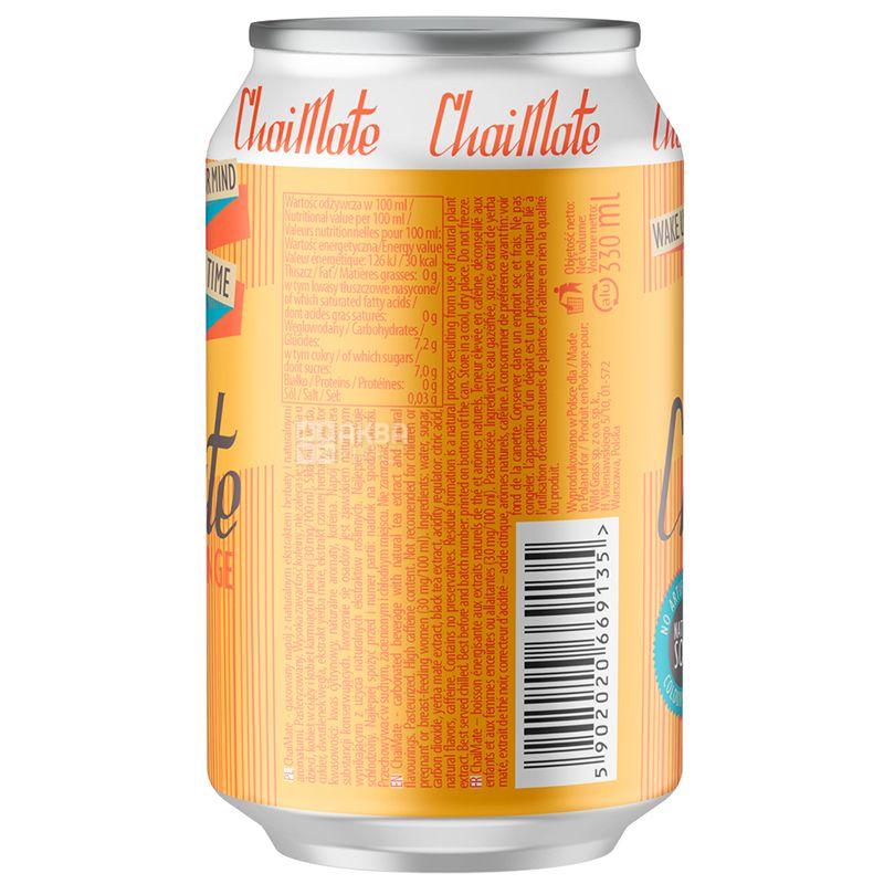 Wild Grass ChaiMate, Напиток газированный, 0,33 л, ж/б