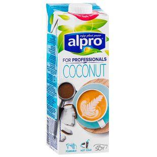 Alpro, 1 л, Напій соєвий кокосовий, Coconut for Professionals, Тетра пак