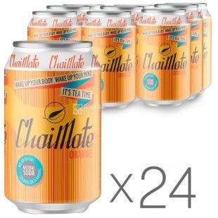 Wild Grass ChaiMate, Напій газований, 0,33 л, упаковка 24 шт., ж/б