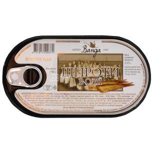 Banga, 190 г, Сардина Балтійська в олії