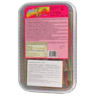 Juicee Gummee, 1,75кг, Жувальні цукерки, Райдужні олівці