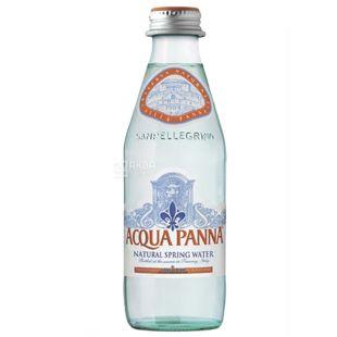 Acqua Panna, 0,25 л, Упаковка 24 шт., Аква Панна, Вода минеральная негазированная, стекло