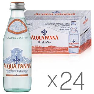 Acqua Panna, 24 pcs. on 0,25 l, Water, Non-carbonated, glass, glass
