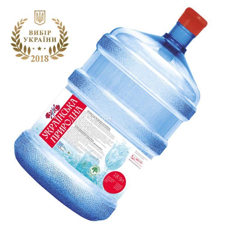 Украинская Природная Вода питьевая, 18,9 л