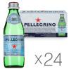 San Pellegrino, 0,25 л, Упаковка 24 шт., Сан Пеллегрино, Вода минеральная газированная, стекло