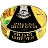 Fish Line, 160 г,  Шпроты рижские