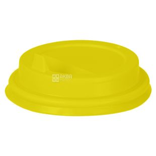 Кришка для одноразового стакану Упаковка 50 шт 250 мл Жовта м / у