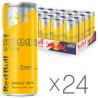 Red Bull, Упаковка 24 шт. по 0.25 л, Енергетичний напій, Tropical Edition, ж/б