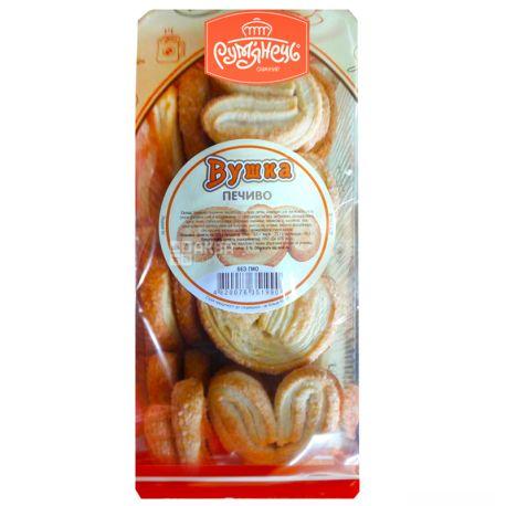 Рум'янець, 300 г, Печиво, Вушка, Листкове