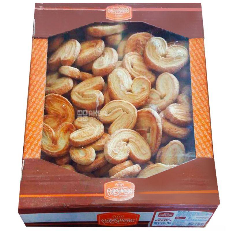 Рум'янець, 1,55 кг, Печиво, Вушка, Листкове