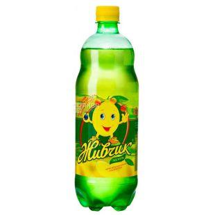 Живчик, Напій соковий, Лимон, 2 л, Пластикова пляшка