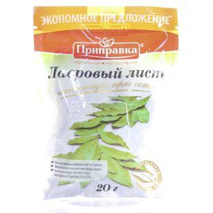 Seasoning, Bay leaf, 20 g, Doy - pack