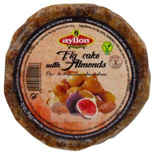 Ayllon Фруктовый пирог, Миндально - инжирный, 200 г, Обертка