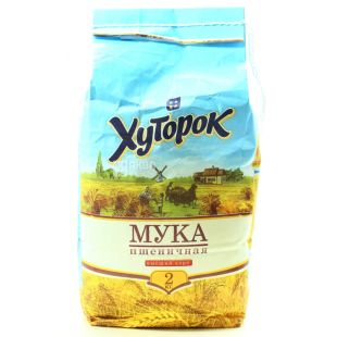 Khutorok Wheat Flour Extra Class, 2 kg, Paper Bag