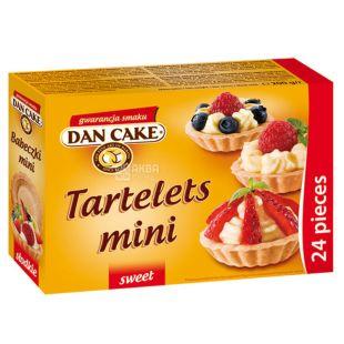 Dan Cake Тарталетки песочные для десертов, 200 г, Коробка