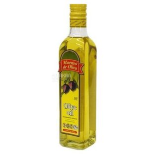 Maestro de Oliva, 500 ml, Olive oil, Olive oil, Glass