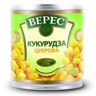 Верес,170г, Кукуруза, Сахарная, Ж/б