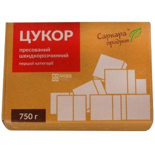 Саркара цукор білий пресований, 750г, карт. коробка