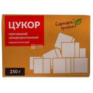 Саркара цукор білий пресований, 250г, карт. коробка