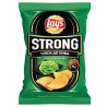 Lay's Strong chips with wasabi flavor, 120 g, m / s