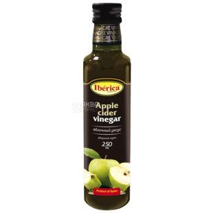 Iberica Оцет яблучний, 250 мл, Скляна пляшка