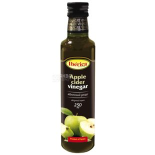 Iberica Уксус яблочный, 250 мл, Стеклянная бутылка