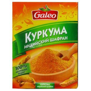 Galeo Імбир мелений, 10 г, Фольгований пакет