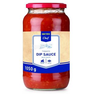 Metro Chef соус томатный средне-острый,1050 г, стекло