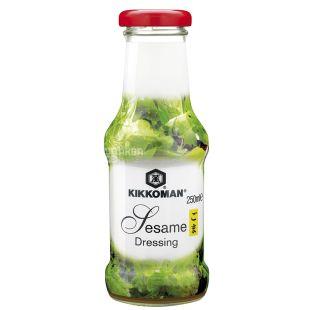 Kikkoman, 250 мл, Соус, Кунжутный, Для салатов, стекло