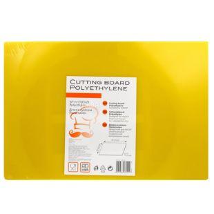 Cutting Board, 30х45 см, Кухонна дошка, Поліетилен, Жовта