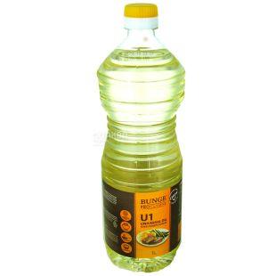 Масло подсолнечное BUNGE PRO U1 , 1л, ПЭТ