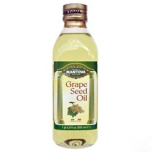 Mantova Олія з виноградних кісточок, 500 мл, пластикова бутилка