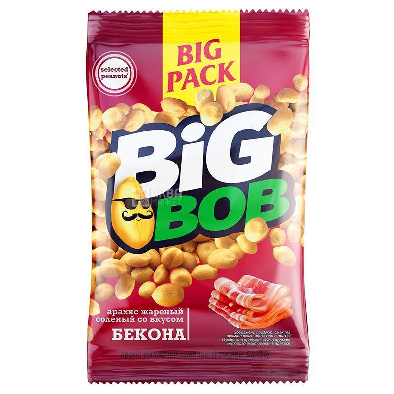 Big Bob Арахис жареный соленый со вкусом бекона, 130г