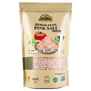 Himalayan Chef, 907р, Рожева сіль, Гімалайська, Coarse, М / у