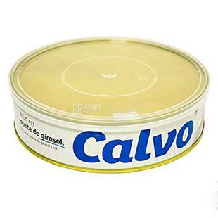 Calvo Тунец в подсолнечном масле, 500г, ж/б