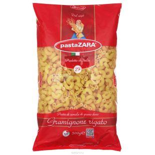 Pasta Zara, 500 г, Макароны, Gramignone rigato, Рожки, м/у