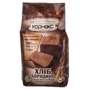 Корнекс, Мучная смесь, Хлеб Бородино, для приготовления хлеба, первый сорт, 0,7 кг