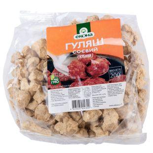 Econa Goulash Soybean, 200 g, plastic bag