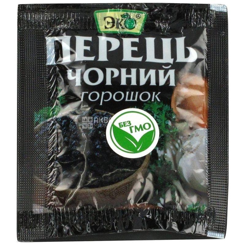 Эко, Перец черный горошек, 10 г