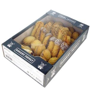 Bakery Family, Набір печива святковий, 900 г, Коробка
